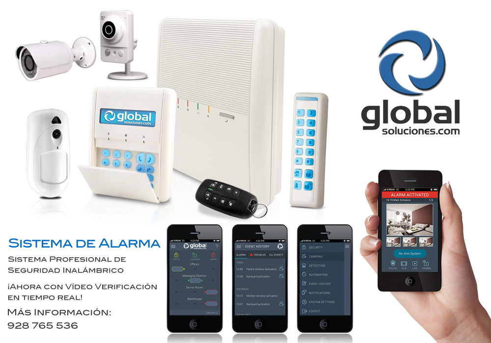 Sistemas de alarmas - Seguridad en su hogar y empresa