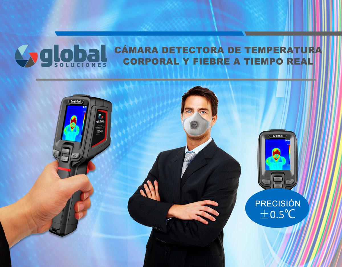 Cámara portátil detección fiebre